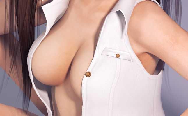 【二次エロ】レイファンの3Dモデルのえっちな画像集める【DOA】