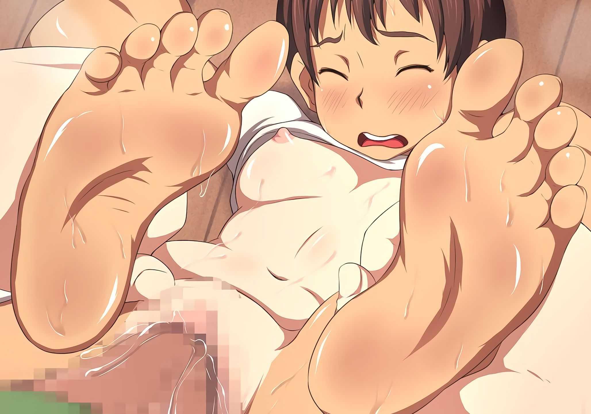 舐め回したい足フェチに向けた裸足の美少女画像下さい