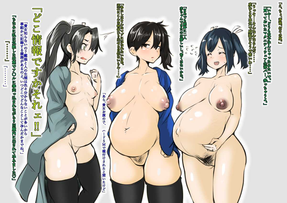 艦隊これくしょん, 加賀さん 妊娠しちゃうくらいセックスハマっちゃった加賀さん【艦隊これくしょん】